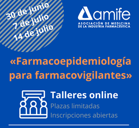 AMIFE – Talleres de Farmacoepidemiología  para farmacovigilantes