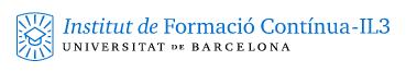 IL3-Universitat de Barcelona - Postgrado en Sistemas de Calidad en la Industria y la Investigación Farmacéutica