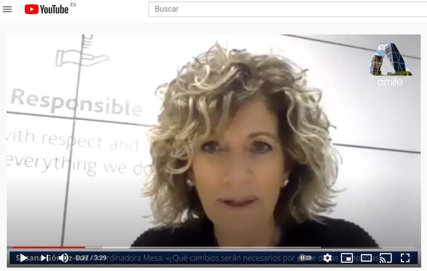 Susana Gómez-Lus presenta la Mesa: «¿Qué cambios serán necesarios por parte de las compañías? Nuevos actores, nuevos escenarios»